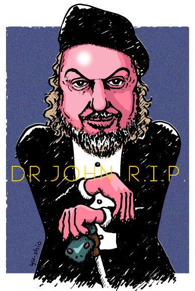 Dr. John caricature likeness