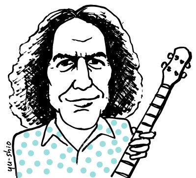 Joey Spampinato NRBQ caricature likeness