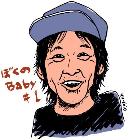 忌野清志郎 caricature likeness