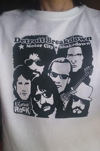 J.Geils Band T Shirt caricature