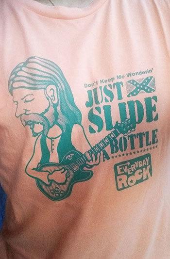 Duane Allman T Shirt caricature