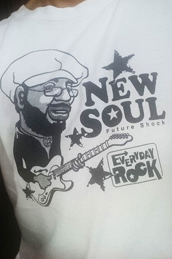 Curtis Mayfield T Shirt caricature