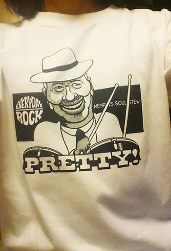 Bernard Purdie T Shirt caricature