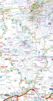 下呂舞台峠地図