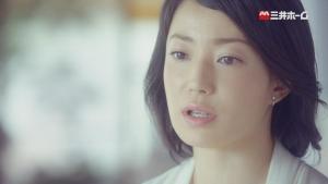 菅野美穂 三井ホーム 「震度7に60回耐えた家。」インタビュー篇0001