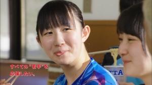 早田ひな/マルちゃん クッタ「卓球・早田ひなへ差し入れ」篇0018