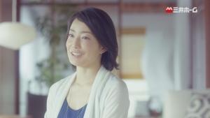 菅野美穂 三井ホーム 「震度7に60回耐えた家。」インタビュー篇0003