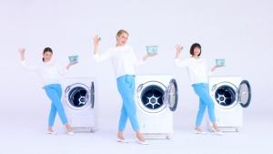 小倉優子&ケイリンルッソ ボールド「キモチアガるお洗濯」篇0004