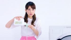 小倉優子&ケイリンルッソ ボールド「キモチアガるお洗濯」篇0008