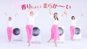 小倉優子&ケイリンルッソ ボールド「キモチアガるお洗濯」篇0016