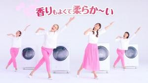 小倉優子&ケイリンルッソ ボールド「キモチアガるお洗濯」篇0017