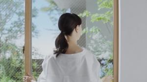 乙黒えり YKKAP 防火窓Gシリーズ アルミ樹脂複合NEO Wクリア篇0003