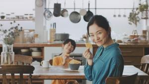 鳥本愛 白鳥玉季/スライスチーズ パリパリスライス逆再生レシピ篇0006
