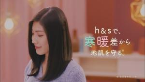 立石晴香&渡辺舞 CM プレミアムスカルプケア『寒暖差から、地肌を守る』篇0011