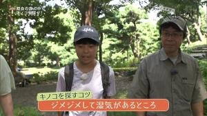 角田遥夏 又吉直樹のヘウレーカ!「キノコって木の子どもなの?」 0010