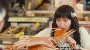 吉岡里帆CM Y!mobile「新人魚姫」篇0019