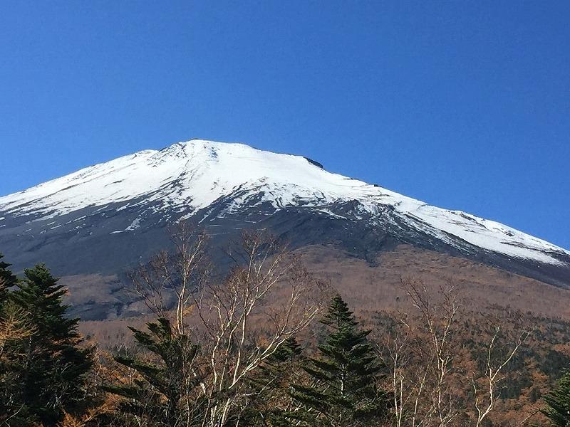 小富士からの富士山北麓