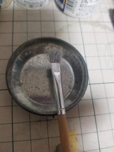 ドライブラシの筆2