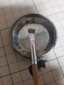 ドライブラシの筆3