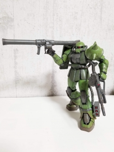 MS-06JC アクションポーズ4