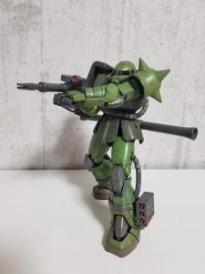 MS-06JC アクションポーズ1