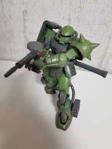 MS-06JC アクションポーズ2
