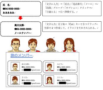 メンバー作成2-2