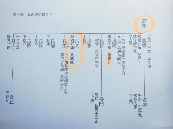高望王系図