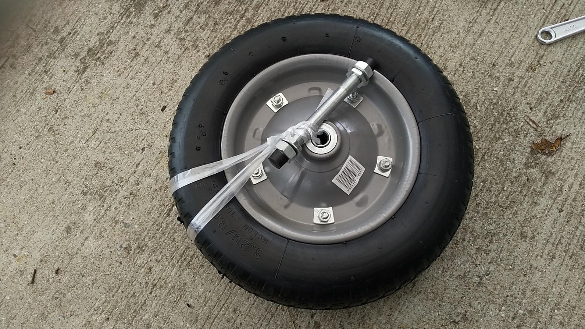 ネコ車新タイヤ