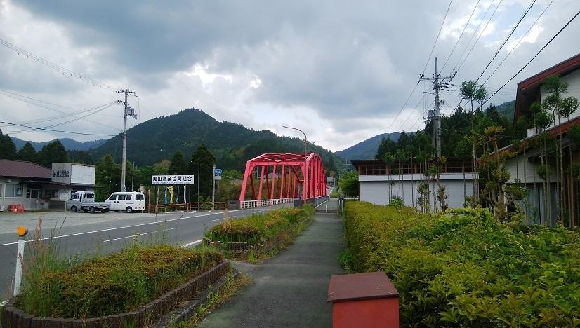 赤い橋も変わらず