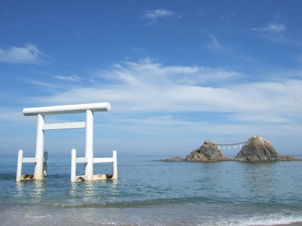 糸島市の二見ケ浦