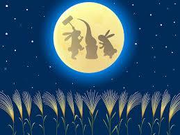 満月とうさぎ