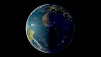 地球 昼と夜