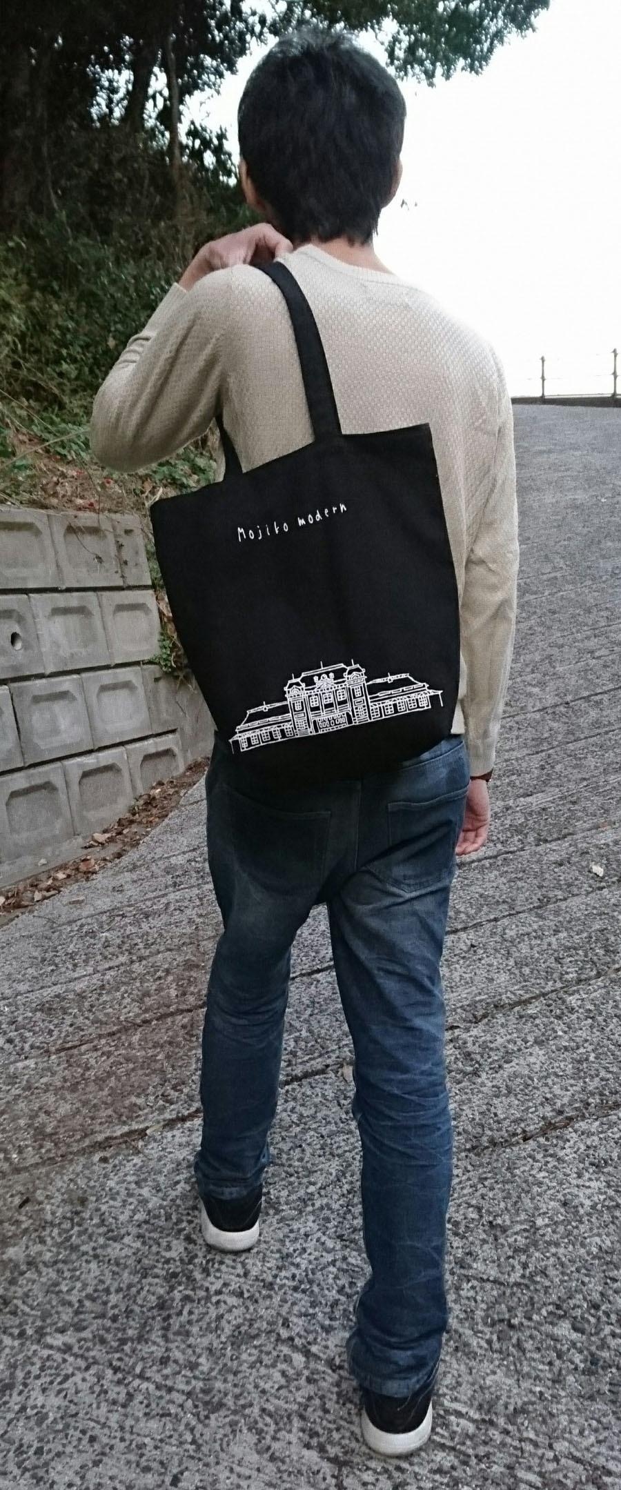 トートバッグモデル写真①