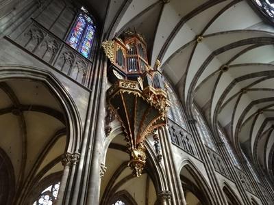 大聖堂のオルガン
