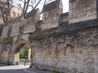 ストラスブールの城壁