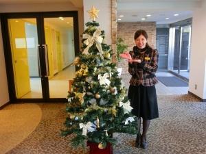 クリスマスツリーの完成です♪