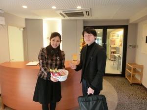 斎藤先生に「福」が訪れます様に♪