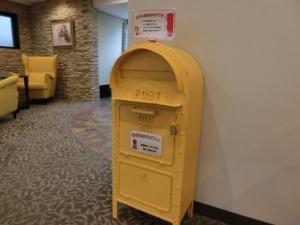 幸せの黄色いポスト♪