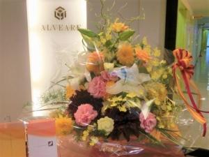 素敵なお花をありがとうございます♪