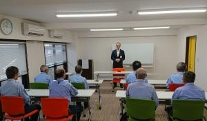 神奈川中央警備保障株式会社様の研修が行われました。