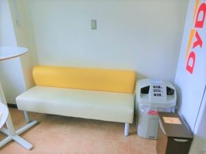 ソファの設置が完了しました