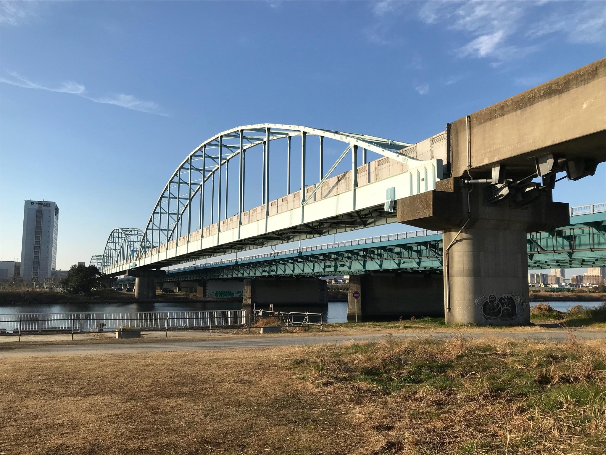 大橋 多摩川