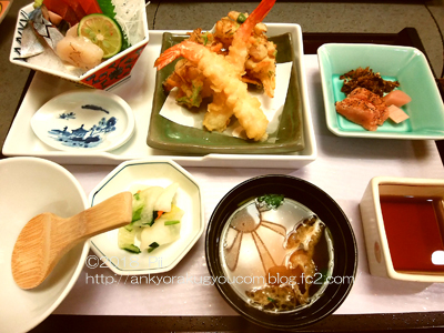 地元のとある和食店にて 2018-9-14 (1)