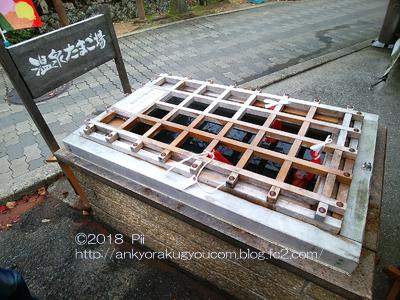 城崎温泉元湯で温泉たまご♪ 2018-11-7 (1)