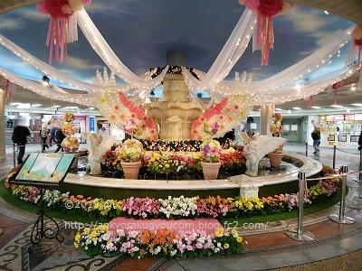 「泉の広場」がかわいらしく? 2019-3-22 (1)