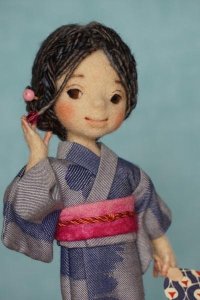 浴衣の女の子3