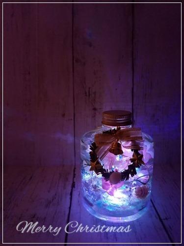 ハーバリウム スタッキングボトル用ライト プレゼントします♪