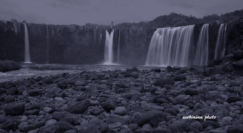 原尻の滝-1