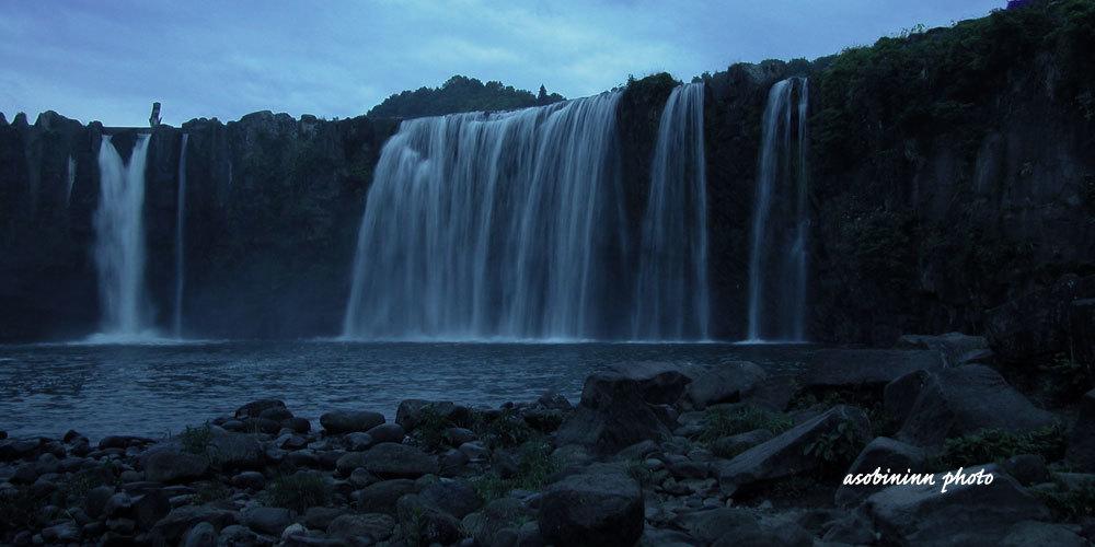 原尻の滝ー2